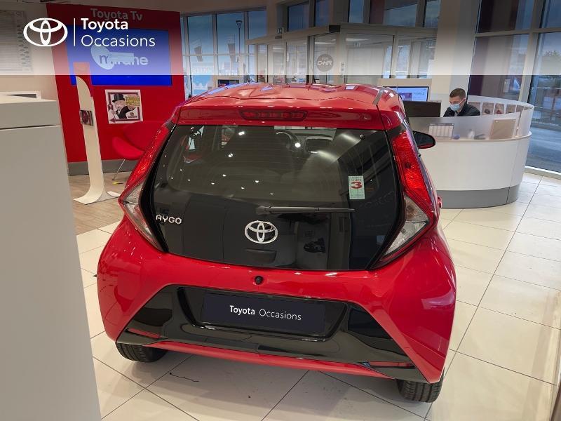 Photo 28 de l'offre de TOYOTA Aygo 1.0 VVT-i 72ch x-play 5p MY20 à 12290€ chez Altis - Toyota Vannes