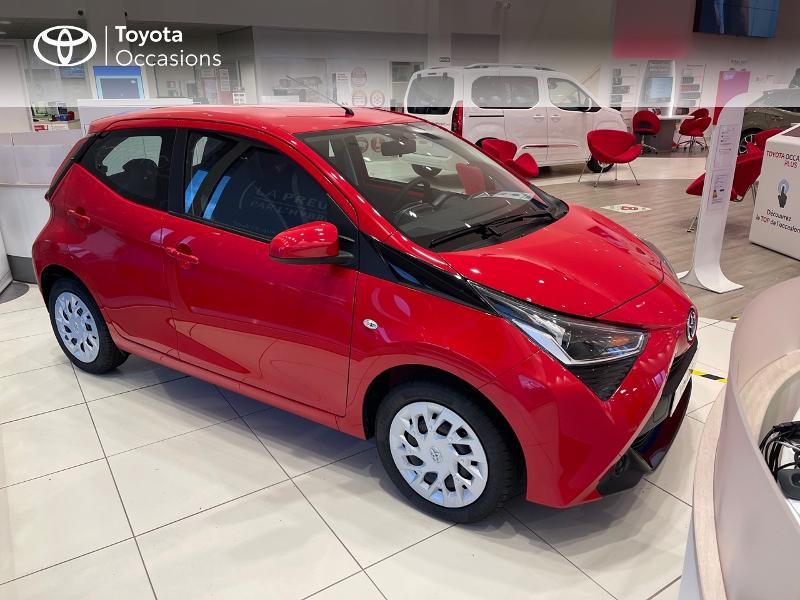 Photo 19 de l'offre de TOYOTA Aygo 1.0 VVT-i 72ch x-play 5p MY20 à 12290€ chez Altis - Toyota Vannes