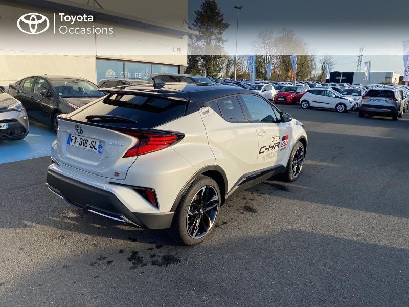 Photo 18 de l'offre de TOYOTA C-HR 184h GR-Sport 2WD E-CVT MY20 à 32890€ chez Altis - Toyota Vannes