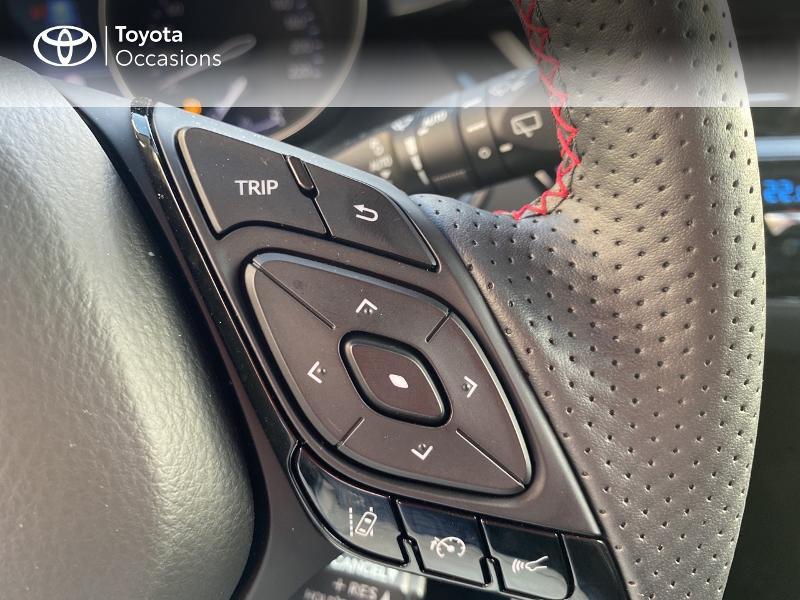 Photo 20 de l'offre de TOYOTA C-HR 184h GR-Sport 2WD E-CVT MY20 à 32890€ chez Altis - Toyota Vannes