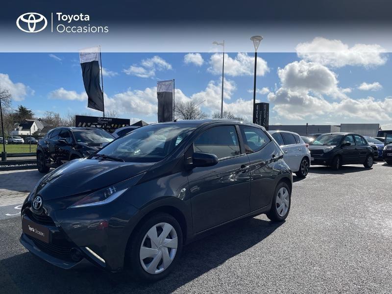 Photo 25 de l'offre de TOYOTA Aygo 1.0 VVT-i 69ch x-play 5p à 8980€ chez Altis - Toyota Vannes