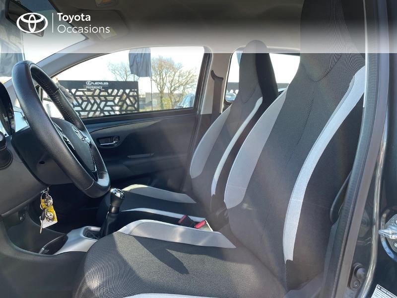 Photo 11 de l'offre de TOYOTA Aygo 1.0 VVT-i 69ch x-play 5p à 8980€ chez Altis - Toyota Vannes