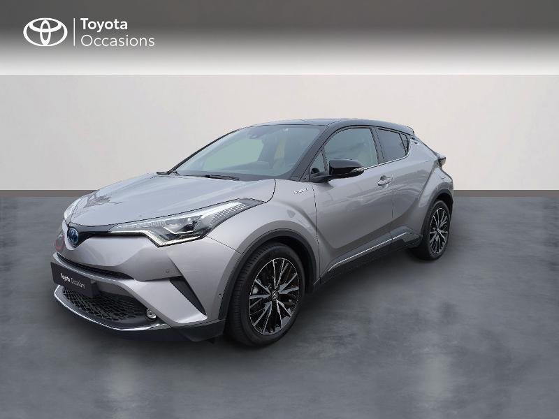 Toyota C-HR 122h Collection 2WD E-CVT RC18 Hybride GRIS platinium Occasion à vendre