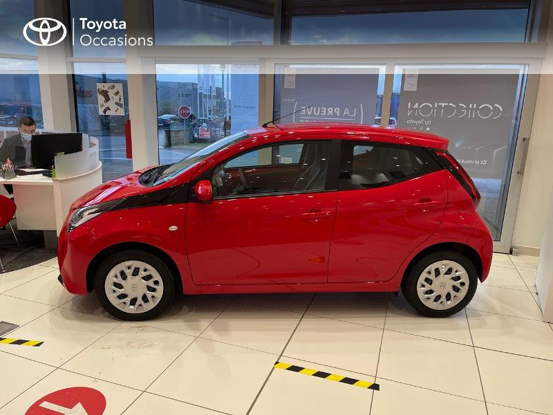 Photo 27 de l'offre de TOYOTA Aygo 1.0 VVT-i 72ch x-play 5p MY20 à 12290€ chez Altis - Toyota Vannes