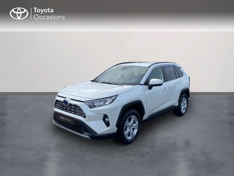 Toyota RAV4 Hybride 218ch Dynamic 2WD MY21 Hybride BLANC NACRE Occasion à vendre