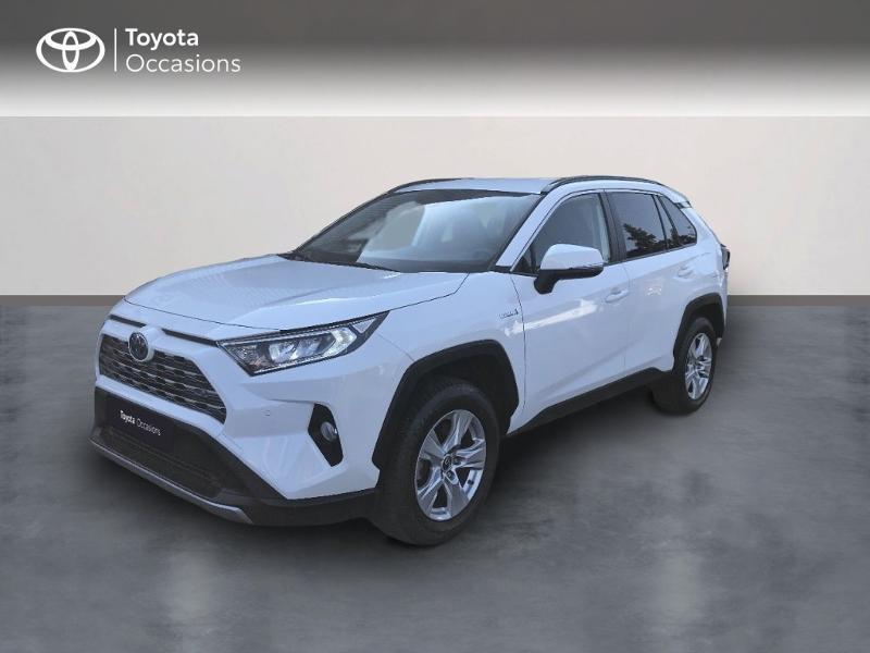 Toyota RAV4 Hybride 218ch Dynamic 2WD Hybride blanc Occasion à vendre