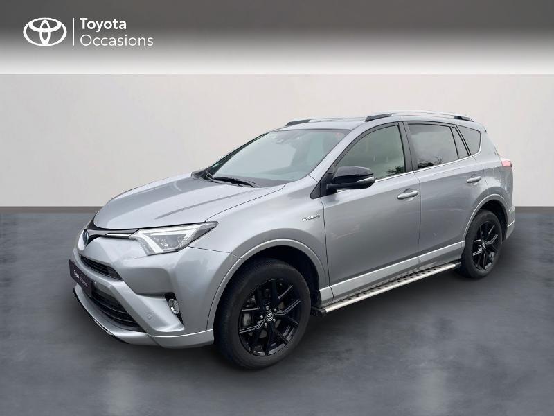Toyota RAV4 197 Hybride Collection 2WD CVT RC18 Hybride GRIS ACIER Occasion à vendre