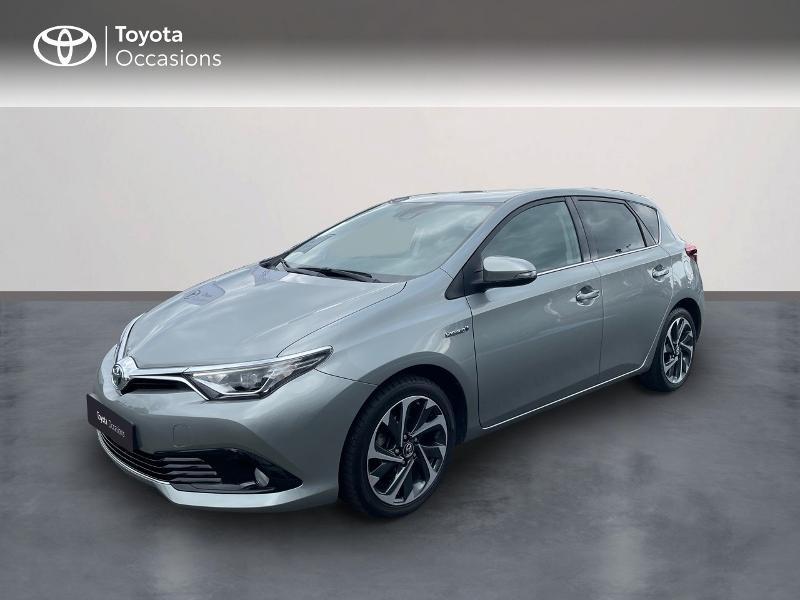Toyota Auris HSD 136h TechnoLine Hybride gris clair Occasion à vendre
