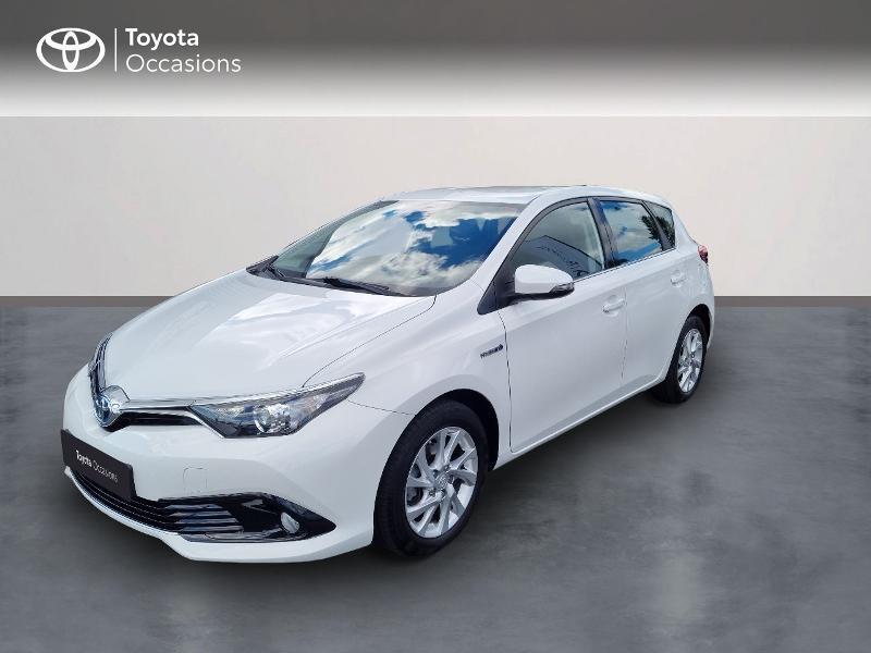 Toyota Auris HSD 136h TechnoLine RC18 Hybride Blanc Occasion à vendre