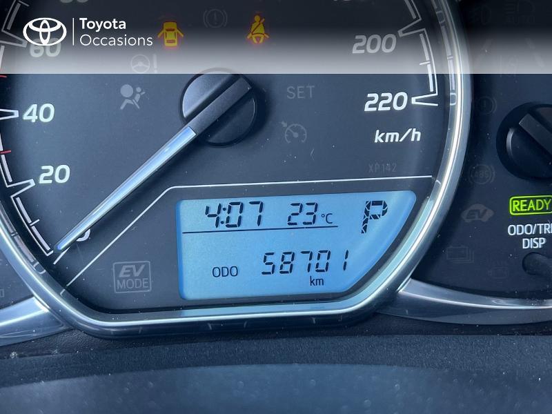 Photo 14 de l'offre de TOYOTA Yaris HSD 100h France 5p à 12590€ chez Altis - Toyota Vannes