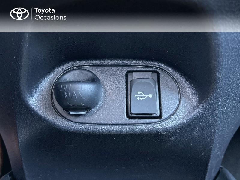 Photo 17 de l'offre de TOYOTA Yaris HSD 100h France 5p à 12590€ chez Altis - Toyota Vannes