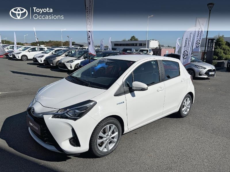 Photo 25 de l'offre de TOYOTA Yaris HSD 100h France 5p à 12590€ chez Altis - Toyota Vannes