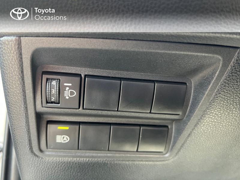 Photo 6 de l'offre de TOYOTA Yaris 116h Design 5p à 20890€ chez Altis - Toyota Vannes