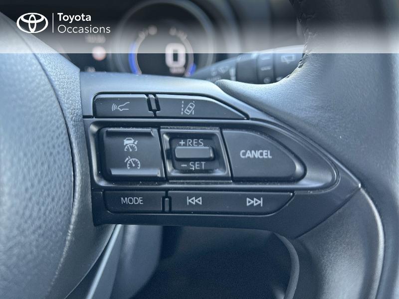 Photo 20 de l'offre de TOYOTA Yaris 116h Design 5p à 20890€ chez Altis - Toyota Vannes