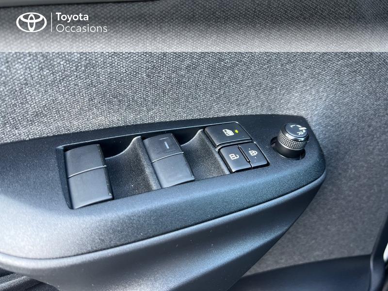 Photo 21 de l'offre de TOYOTA Yaris 116h Design 5p à 20890€ chez Altis - Toyota Vannes