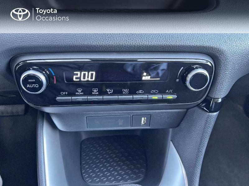 Photo 22 de l'offre de TOYOTA Yaris 116h Design 5p à 20890€ chez Altis - Toyota Vannes