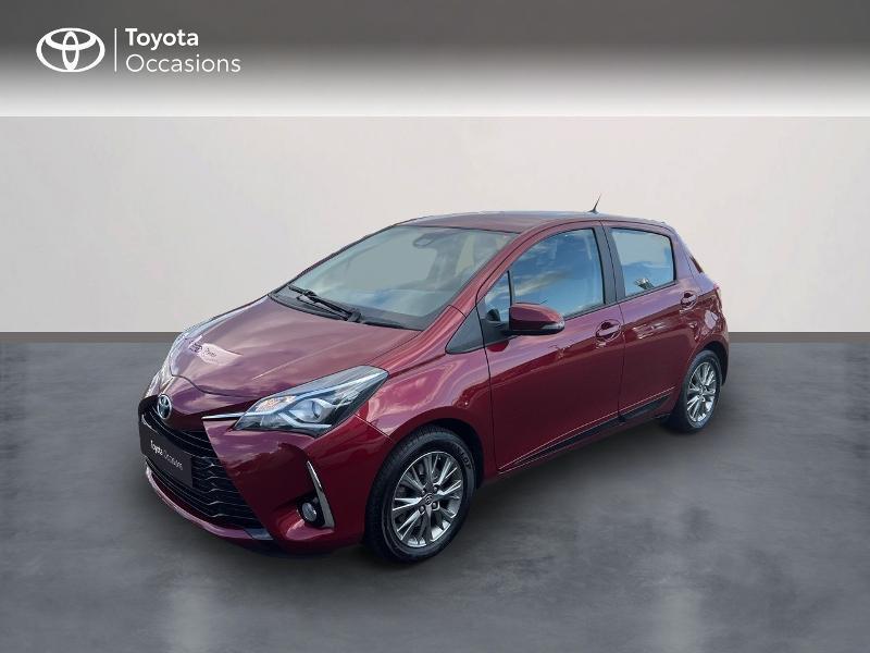 Toyota Yaris 110 VVT-i Dynamic CVT 5p Essence rouge Occasion à vendre