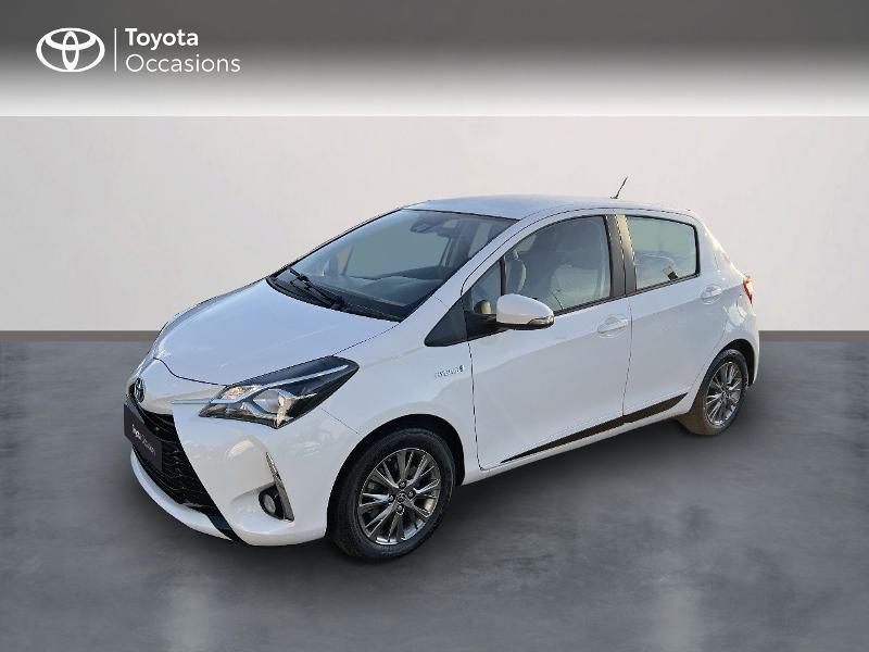 Toyota Yaris 100h Dynamic 5p MY19 Hybride Blanc Occasion à vendre