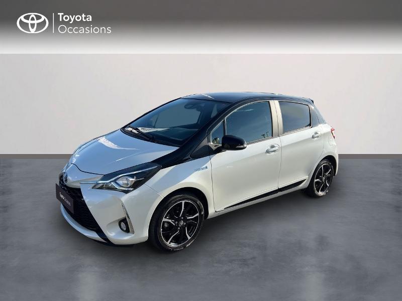 Toyota Yaris 100h Collection 5p RC18 Hybride BLANC NACRE Occasion à vendre