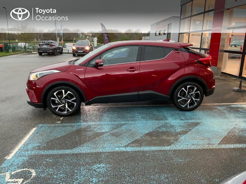 Photo 27 de l'offre de TOYOTA C-HR 122h Edition 2WD E-CVT RC18 à 21980€ chez Altis - Toyota Pontivy