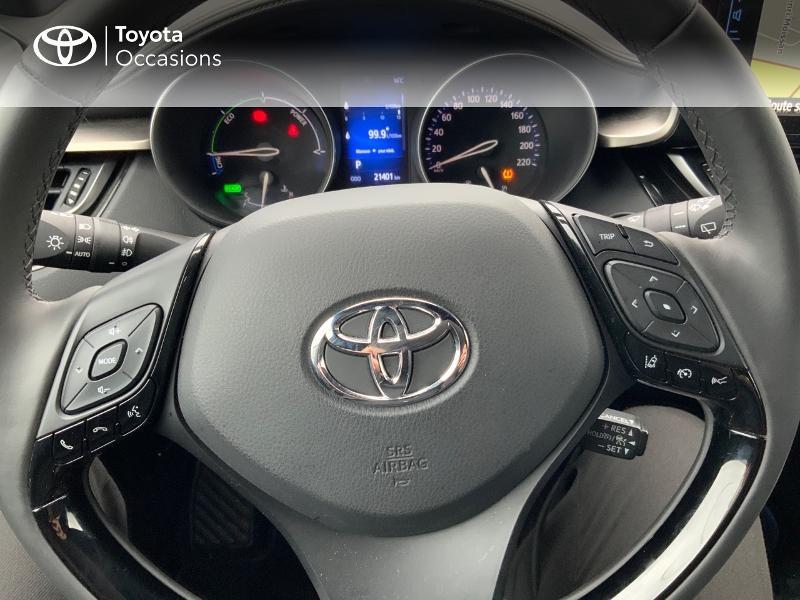 Photo 20 de l'offre de TOYOTA C-HR 122h Edition 2WD E-CVT RC18 à 21980€ chez Altis - Toyota Pontivy
