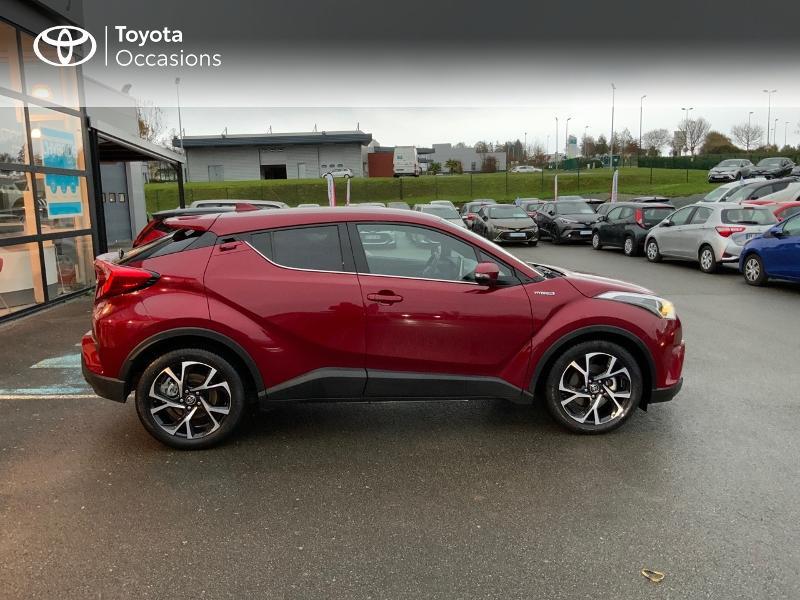 Photo 17 de l'offre de TOYOTA C-HR 122h Edition 2WD E-CVT RC18 à 21980€ chez Altis - Toyota Pontivy