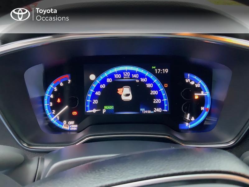 Photo 14 de l'offre de TOYOTA Corolla 122h Dynamic MY20 à 22980€ chez Altis - Toyota Pontivy