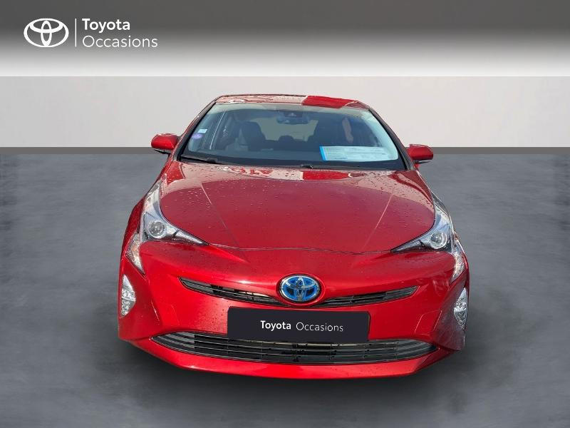 Toyota Prius 122h Dynamic Hybride rouge passion Occasion à vendre