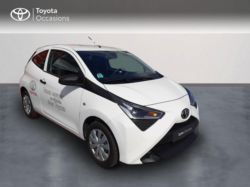 Toyota Aygo 1.0 VVT-i 72ch x 3p Essence blanc Occasion à vendre