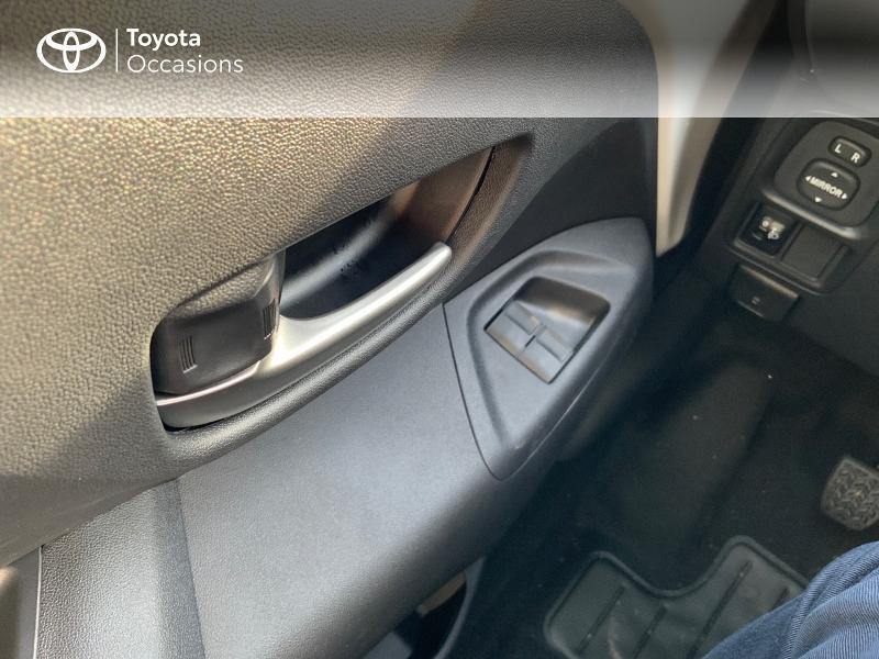 Photo 18 de l'offre de TOYOTA Aygo 1.0 VVT-i 72ch x-play 5p MY20 à 12490€ chez Altis - Toyota Pontivy