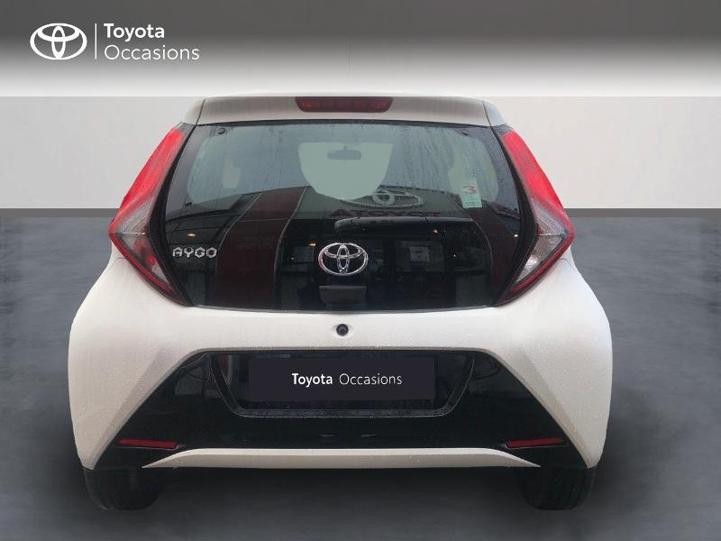 Photo 4 de l'offre de TOYOTA Aygo 1.0 VVT-i 72ch x-play x-app 5p à 9490€ chez Altis - Toyota Pontivy