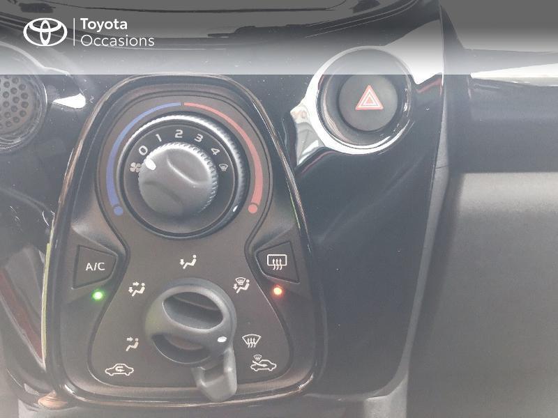 Photo 14 de l'offre de TOYOTA Aygo 1.0 VVT-i 72ch x-clusiv 5p MY20 à 13490€ chez Altis - Toyota Pontivy