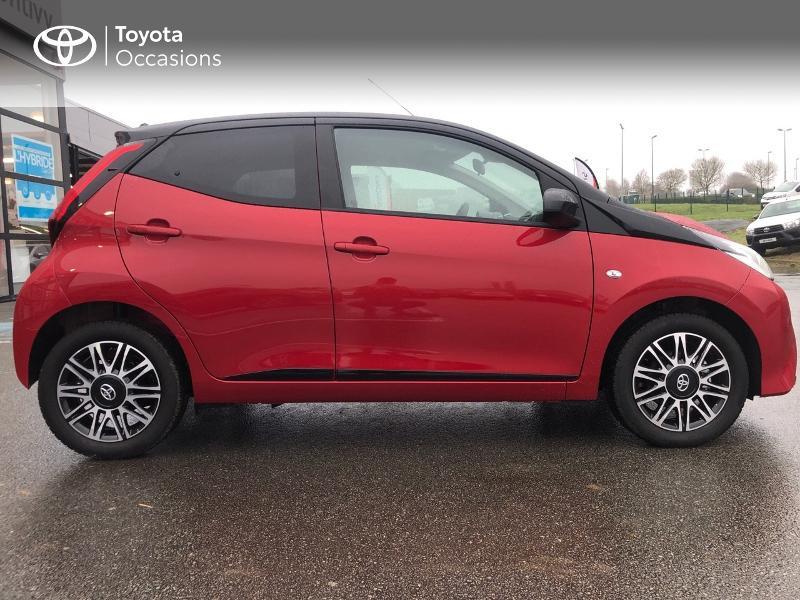 Photo 20 de l'offre de TOYOTA Aygo 1.0 VVT-i 72ch x-clusiv 5p MY20 à 13490€ chez Altis - Toyota Pontivy