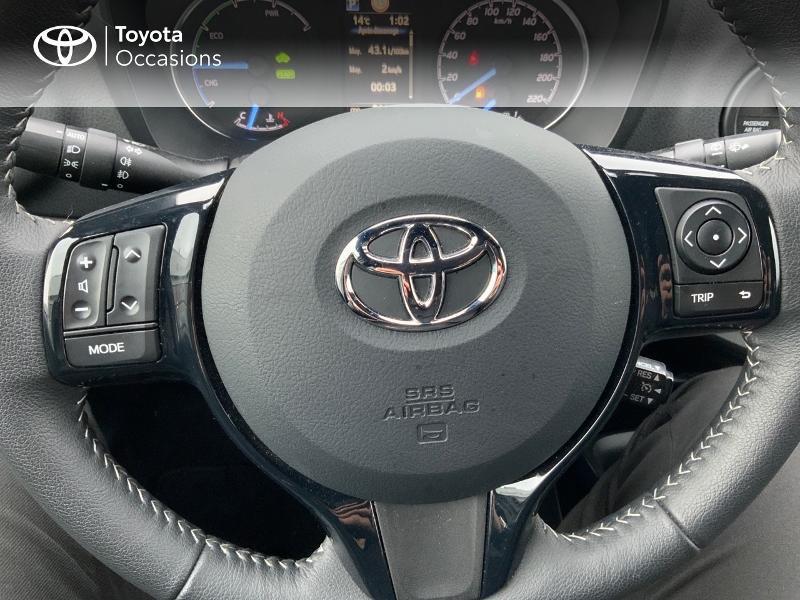 Photo 17 de l'offre de TOYOTA Yaris 100h Collection 5p MY19 à 15980€ chez Altis - Toyota Pontivy