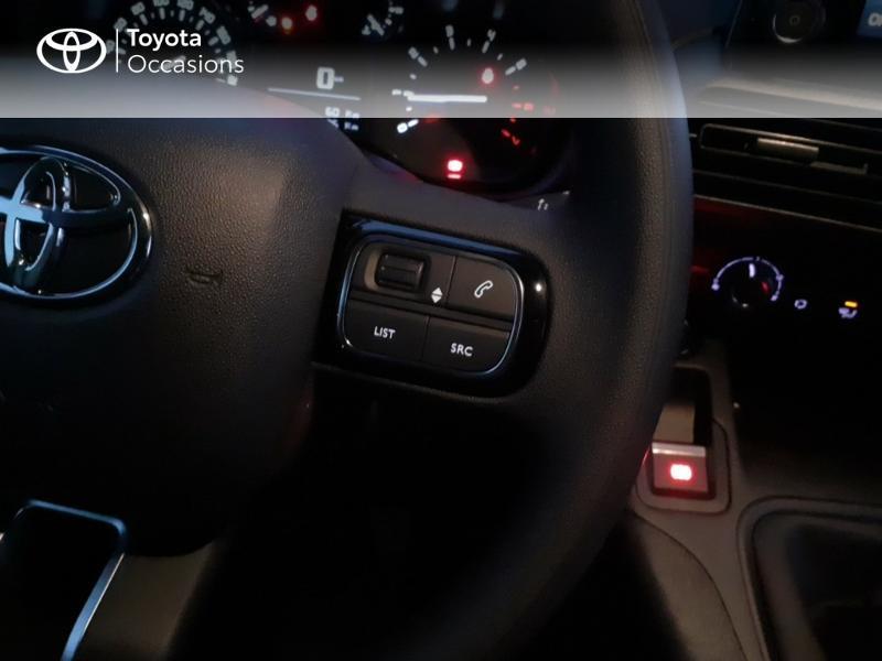 Photo 15 de l'offre de TOYOTA PROACE CITY Medium 130 D-4D Business à 23290€ chez Altis - Toyota Pontivy