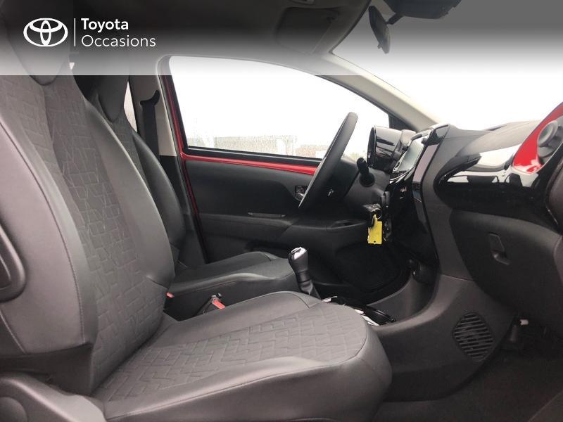 Photo 12 de l'offre de TOYOTA Aygo 1.0 VVT-i 72ch x-clusiv 5p MY20 à 13490€ chez Altis - Toyota Pontivy