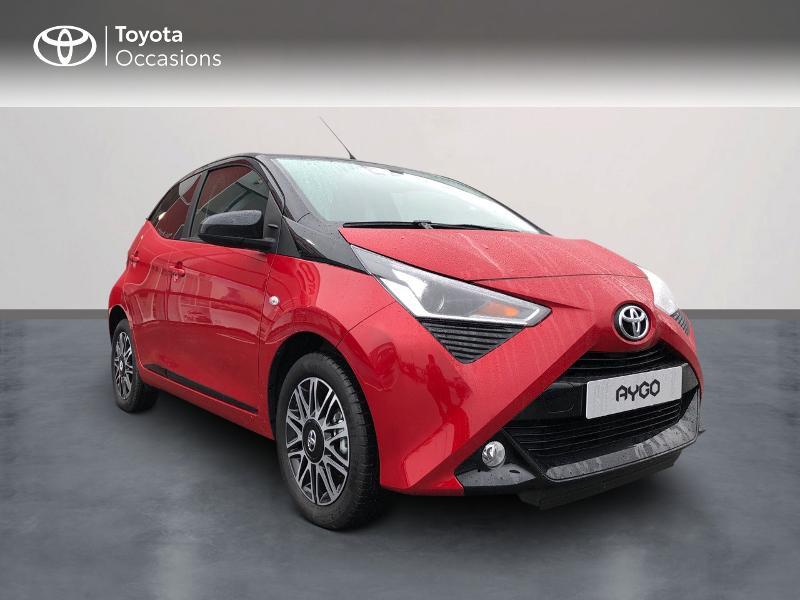 Photo 3 de l'offre de TOYOTA Aygo 1.0 VVT-i 72ch x-clusiv 5p MY20 à 13490€ chez Altis - Toyota Pontivy