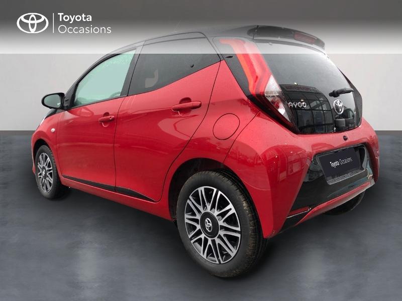 Photo 4 de l'offre de TOYOTA Aygo 1.0 VVT-i 72ch x-clusiv 5p MY20 à 13490€ chez Altis - Toyota Pontivy