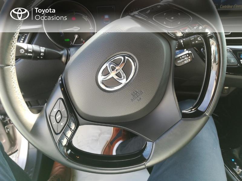 Photo 9 de l'offre de TOYOTA C-HR 122h Edition 2WD E-CVT RC18 à 20490€ chez Altis - Toyota Pontivy