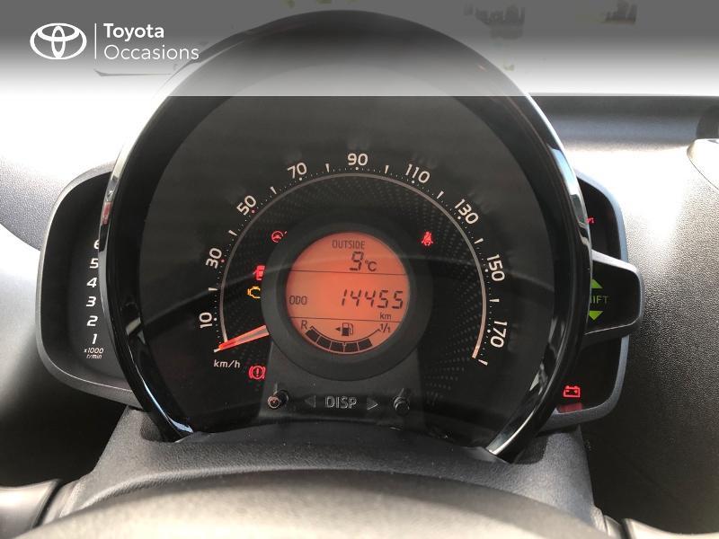 Photo 14 de l'offre de TOYOTA Aygo 1.0 VVT-i 72ch x-play x-app 5p à 9490€ chez Altis - Toyota Pontivy