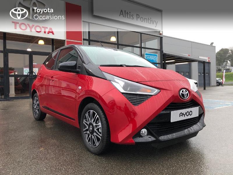 Photo 23 de l'offre de TOYOTA Aygo 1.0 VVT-i 72ch x-clusiv 5p MY20 à 13490€ chez Altis - Toyota Pontivy