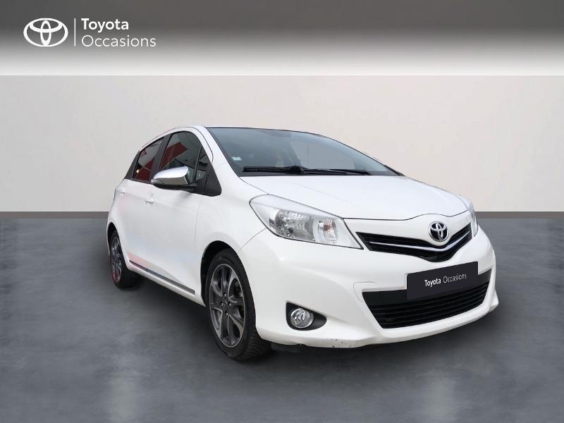 Toyota Yaris 90 D-4D Design 5p Diesel blanc Occasion à vendre