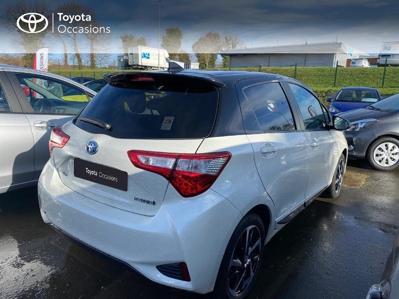 Photo 7 de l'offre de TOYOTA Yaris 100h Collection 5p MY19 à 15980€ chez Altis - Toyota Pontivy
