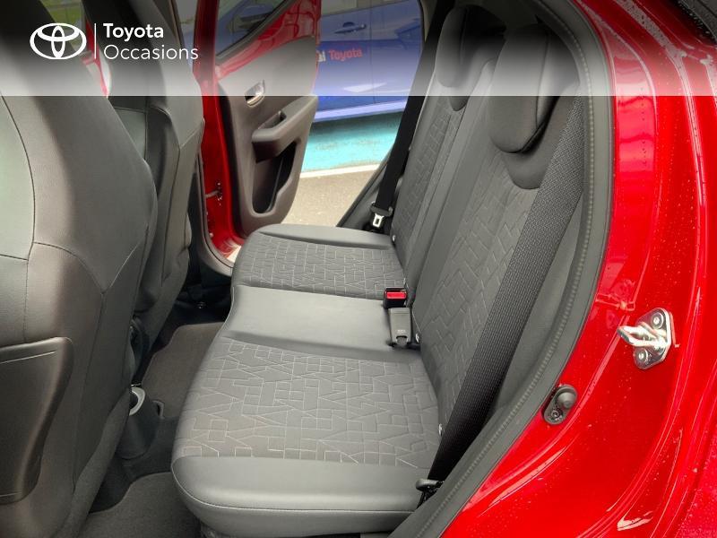 Photo 14 de l'offre de TOYOTA Aygo 1.0 VVT-i 72ch x-clusiv 5p MY20 à 11890€ chez Altis - Toyota Pontivy
