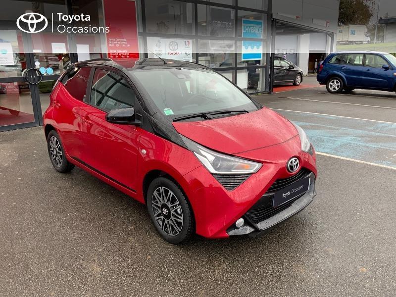 Photo 3 de l'offre de TOYOTA Aygo 1.0 VVT-i 72ch x-clusiv 5p MY20 à 11890€ chez Altis - Toyota Pontivy