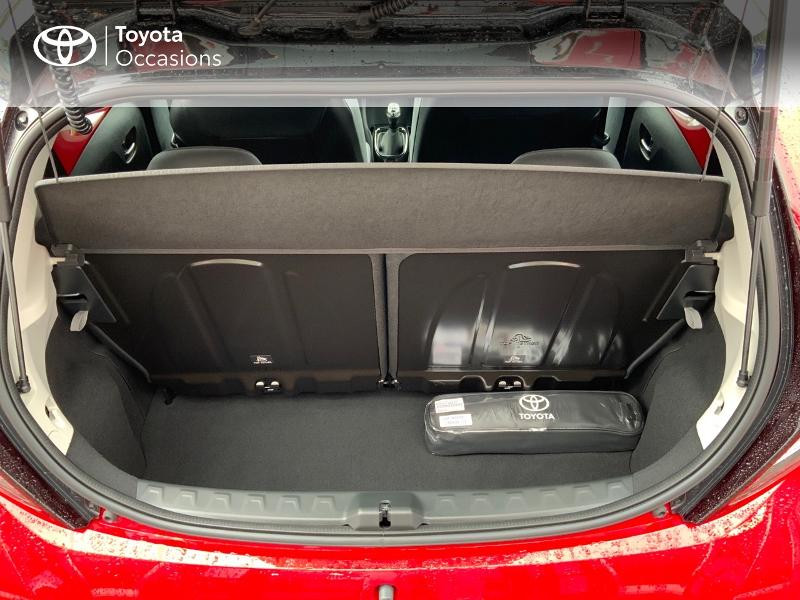 Photo 12 de l'offre de TOYOTA Aygo 1.0 VVT-i 72ch x-clusiv 5p MY20 à 11890€ chez Altis - Toyota Pontivy