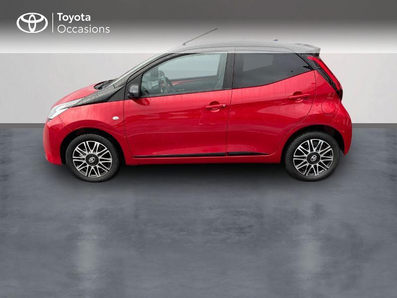 Photo 4 de l'offre de TOYOTA Aygo 1.0 VVT-i 72ch x-clusiv 5p MY20 à 11890€ chez Altis - Toyota Pontivy