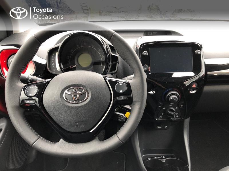 Photo 10 de l'offre de TOYOTA Aygo 1.0 VVT-i 72ch x-clusiv 5p MY20 à 13490€ chez Altis - Toyota Pontivy
