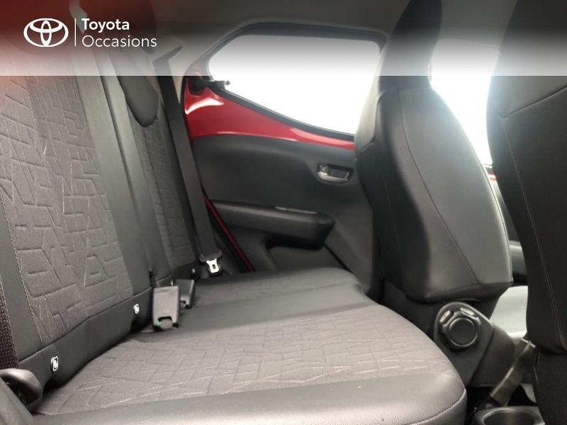 Photo 8 de l'offre de TOYOTA Aygo 1.0 VVT-i 72ch x-clusiv 5p MY20 à 13490€ chez Altis - Toyota Pontivy
