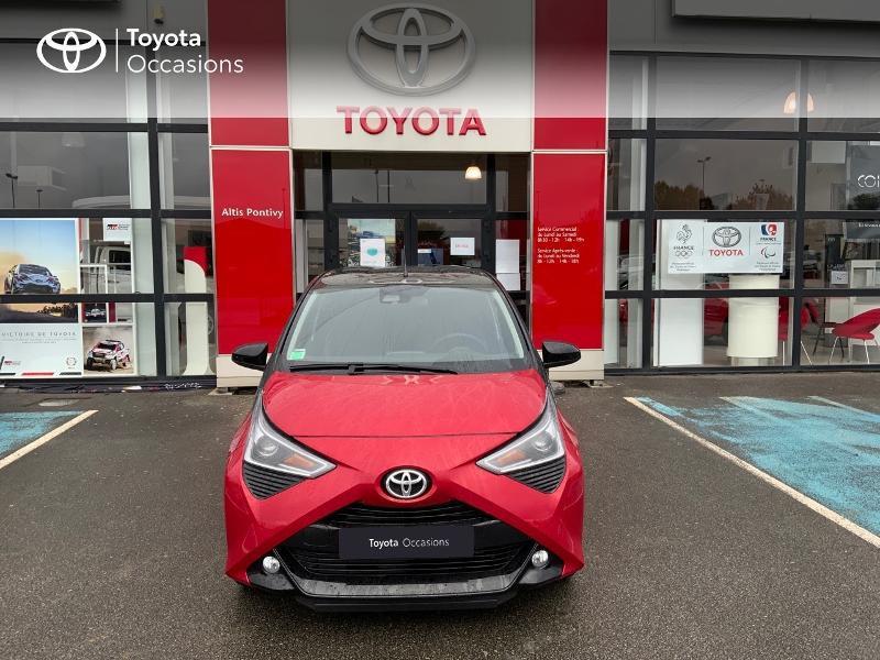 Photo 28 de l'offre de TOYOTA Aygo 1.0 VVT-i 72ch x-clusiv 5p MY20 à 11890€ chez Altis - Toyota Pontivy